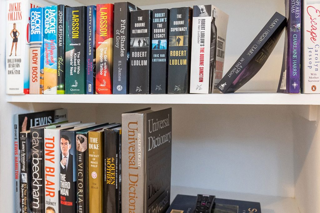 dbeautifiers apartment library section